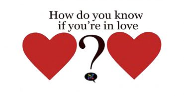 how do you know if you're in love