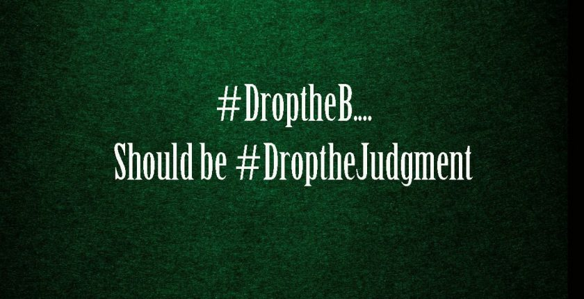 the droptheb controversy