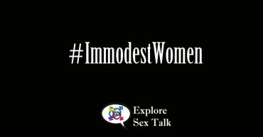 immodest women