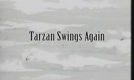 Tarzan Swings Again Cartoon