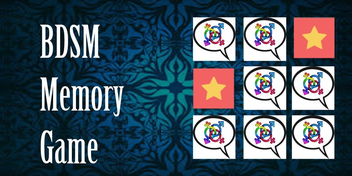 bdsm memory game