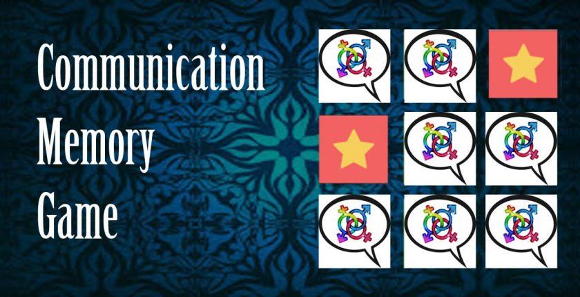 communication memory game