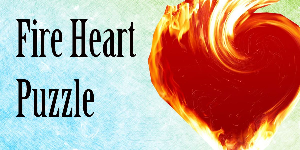 fire heart puzzle
