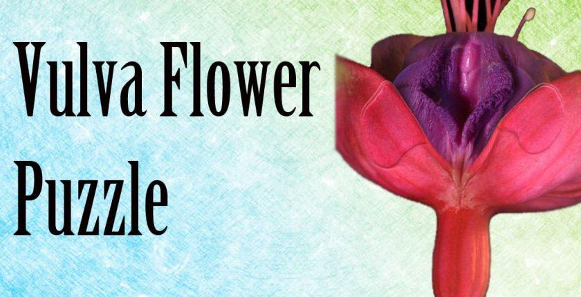 vulva flower puzzle