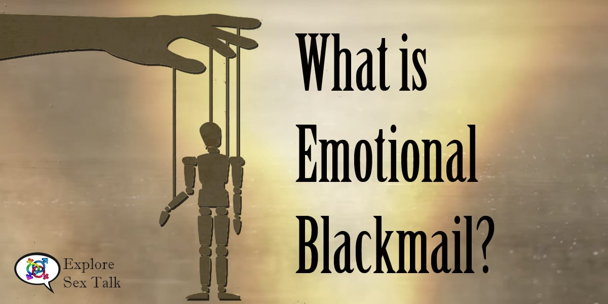 what is emotional blackmail
