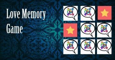 love memory game