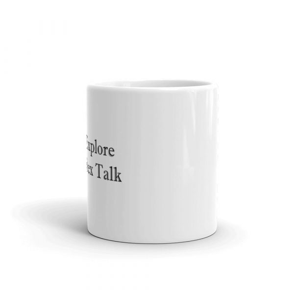 Explore Sex Talk mug side