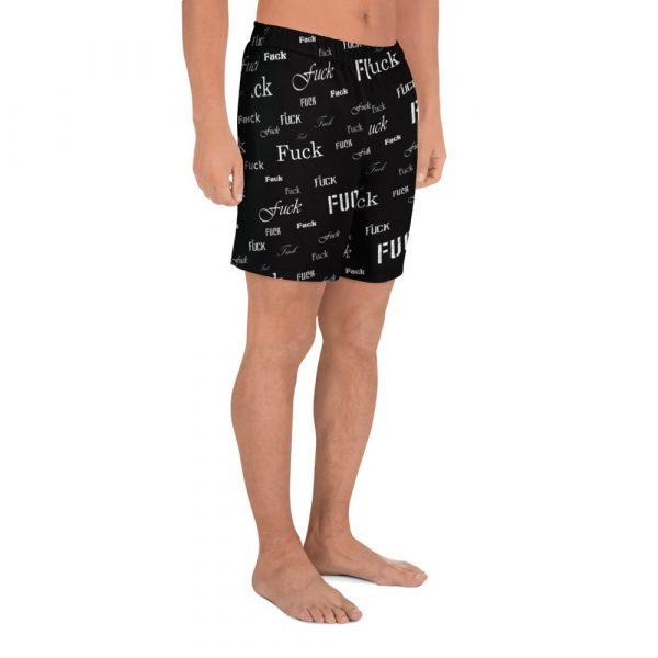 Men's black fuck shorts