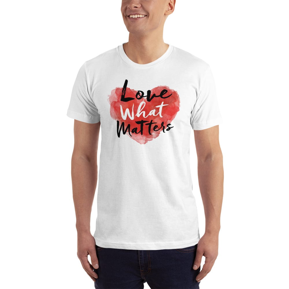 love what matters shirt white
