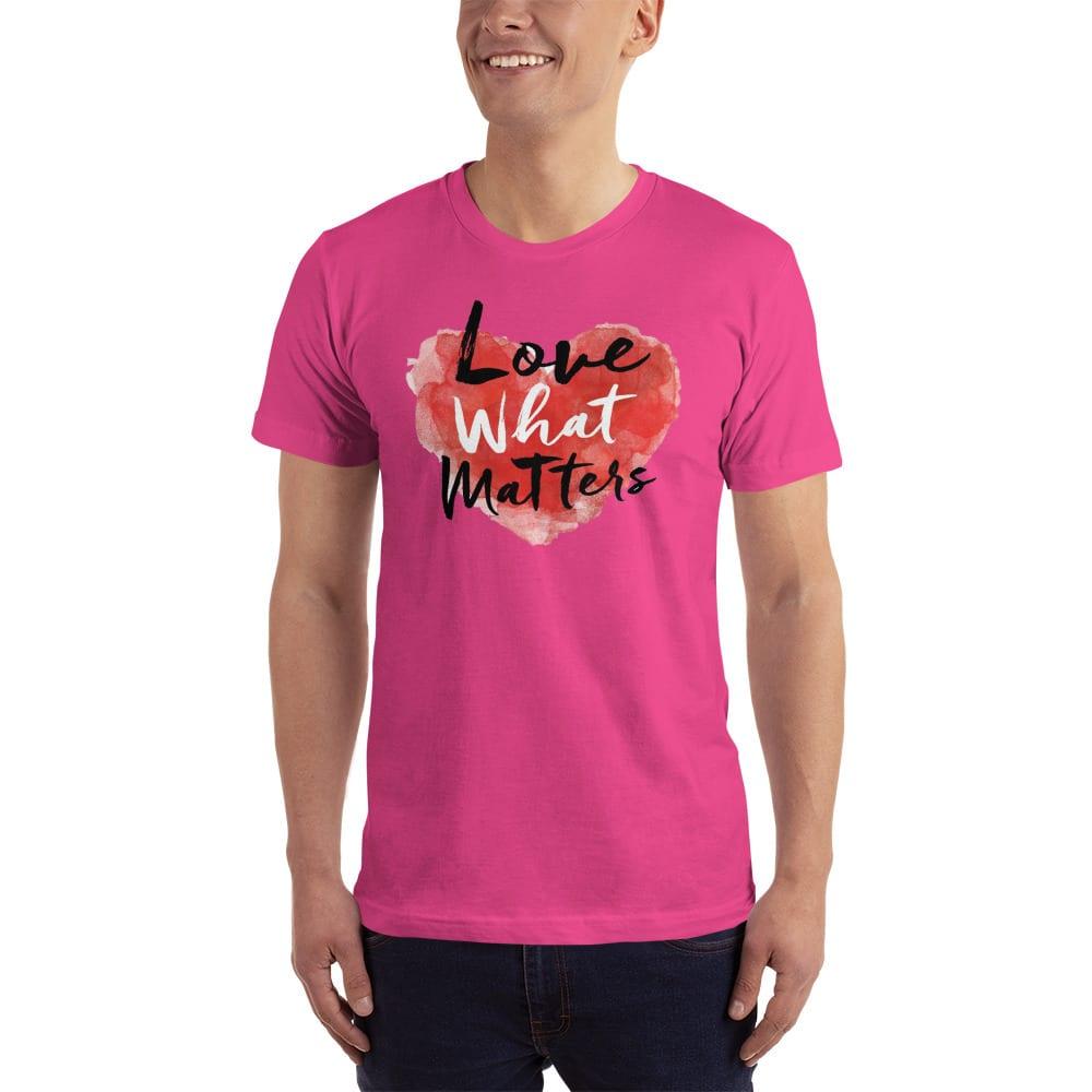 love what matters shirt pink
