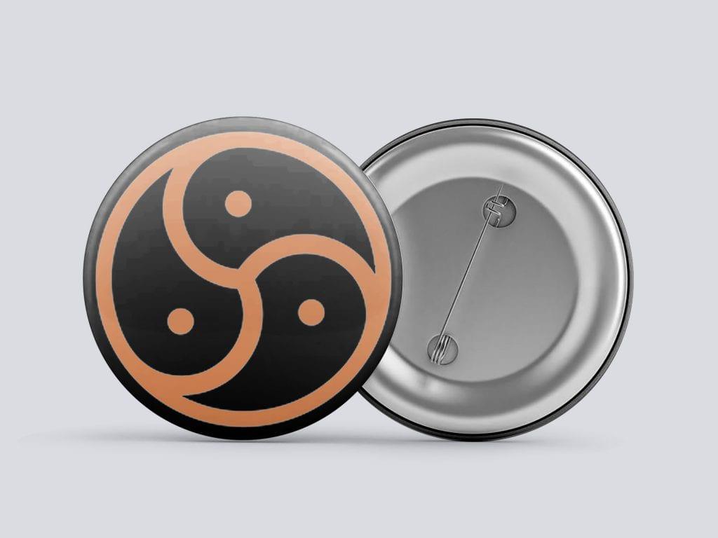 orange bdsm/kink button