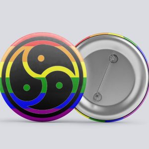 rainbow bdsm/kink button