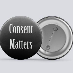 black consent matters buttons