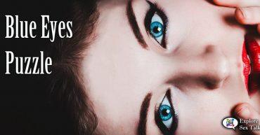 blue eyes puzzle