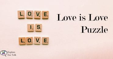 Love is Love puzzle by Explore Sex Talk