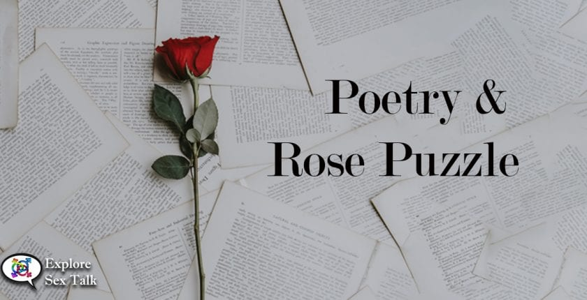 poetry and rose puzzle