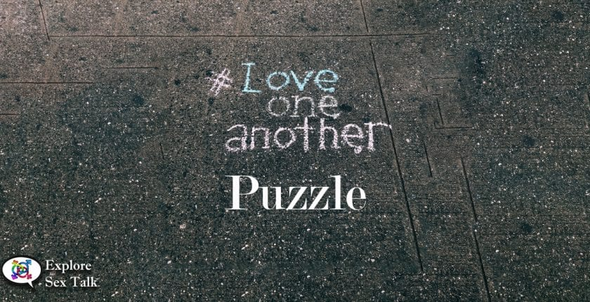 love one another puzzle