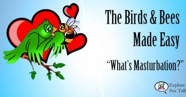 Birds and bees made easy: what is masturbation