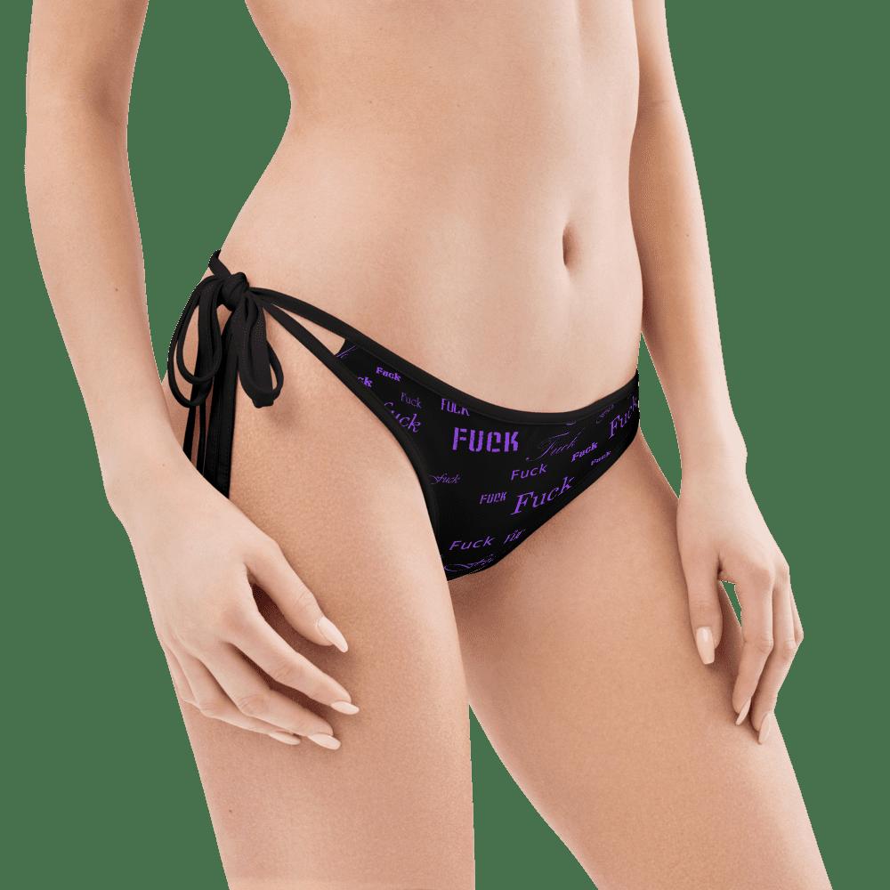 purple fuck bikini bottom
